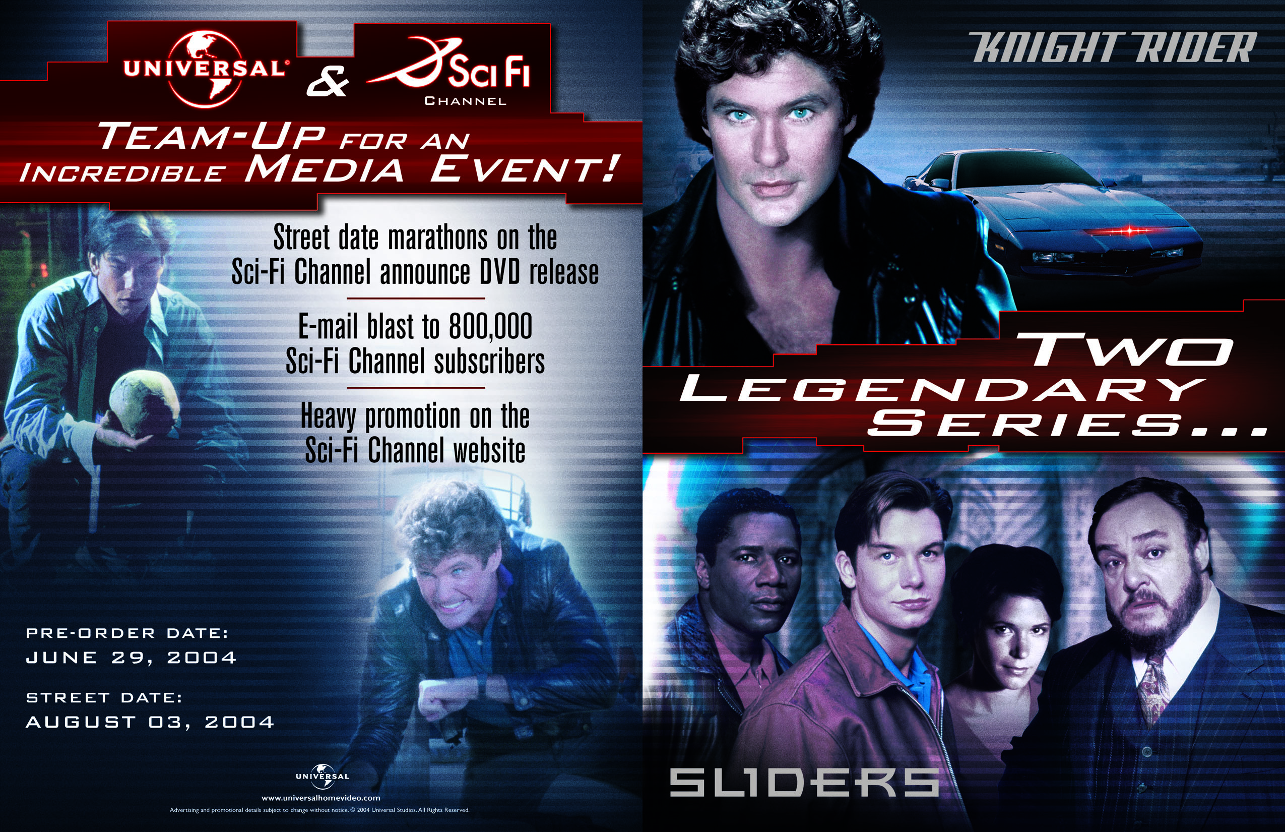 Sliders and Knight Rider : Two Legendary Series | Earth Prime