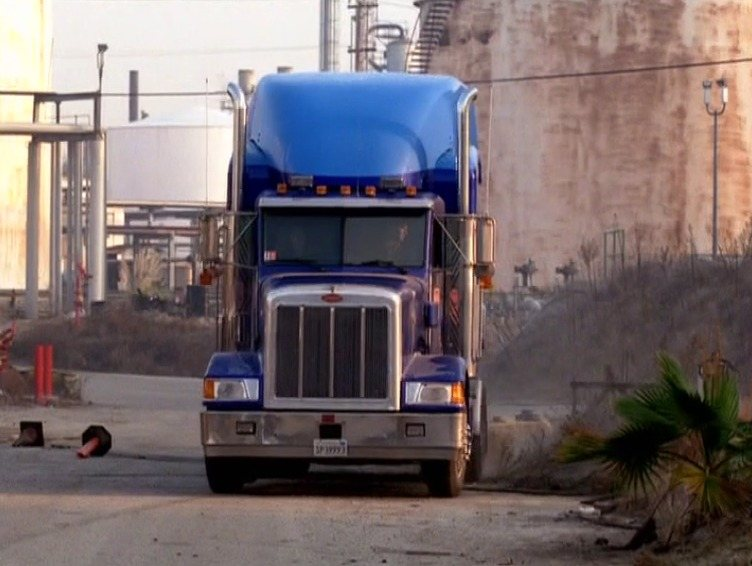You choose— either this is a shot of two stunt drivers, or a shot of Mallory & Sam fucking in a truck.
